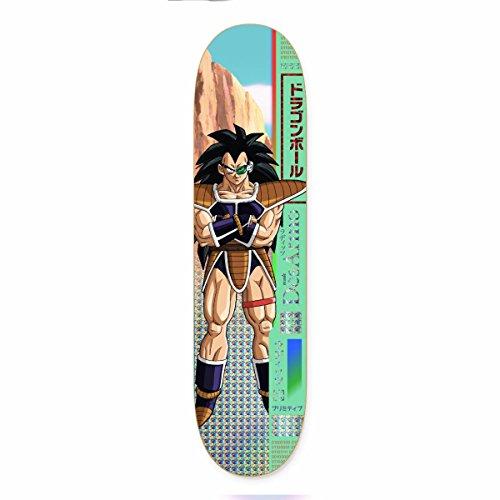 Primitive Dragon Ball Z desarmo Raditz Skateboard Deck 20,3cm