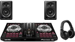 Pioneer Pro DJ Bundle with DDJ-SB3 + DM-40 Set + HDJ-X5 Headphones