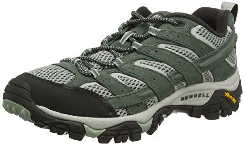 Merrell Moab 2 Vent, Zapatillas de Senderismo para Mujer, Verde (Laurel), 38 EU