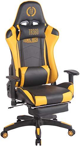 CLP Silla Gaming Turbo En 3 Tapizados Disponibles I Silla Gamer Giratoria & Regulable En Altura,...