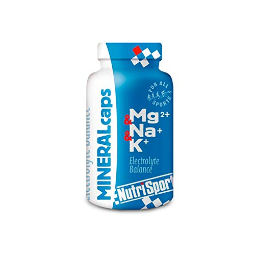 Nutrisport - MineralCaps, Cápsulas de Magnesio, Sodio y Potasio, Deporte, Calambres, 106 Cápsulas 1000 g