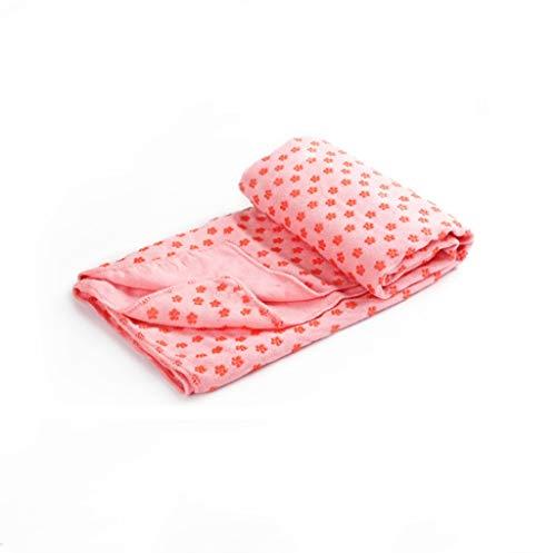 Outdoor sport houlian shop Yoga Handdoek Ecologische Yoga Anti-slip Handdoek Yoga Mat Handdoek Om Stuur Net Tas