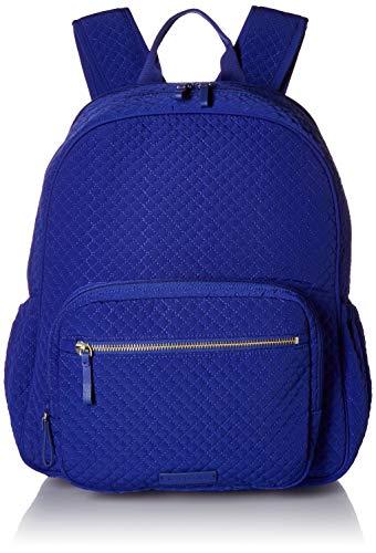 Vera Bradley Microfiber Backpack, Gage Blue
