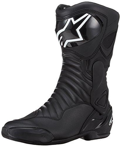 Alpinestars Motorradstiefel SMX-6 V2 Stiefel Sport Racing Boots schwarz 22230171100-43, 43 EU