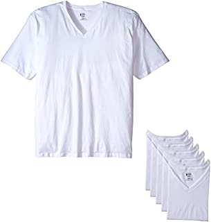 Jockey Men's T-Shirts Big & Tall Classic V-Neck T-Shirt - 6 Pack