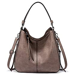 powerful Women's Hobo Bag A large hobo wallet with genuine PU leather purse and bag tassel
