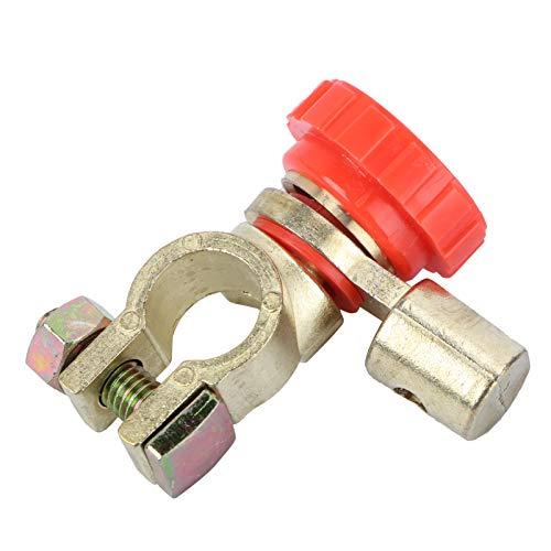UEETEK 17mm Universal-Auto-Batterie-Trennschalter-Trennschalter Cut-off-Schalter (rot)