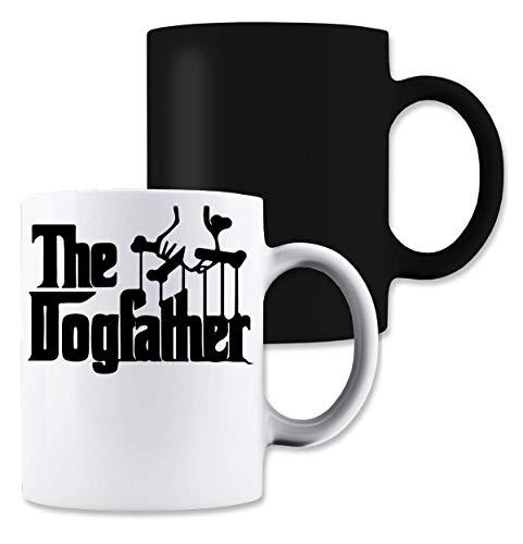 ShutUp The Dogfather Logo Taza De Café Mágica del Té