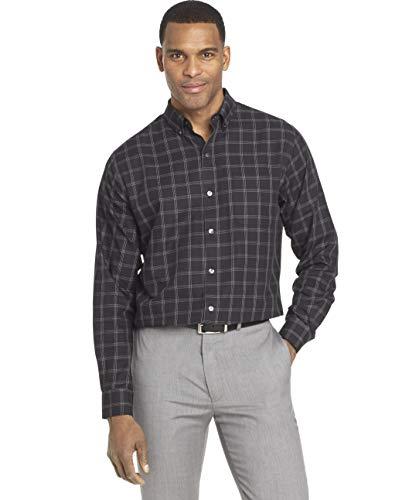 Van Heusen Men's Wrinkle Free Long Sleeve Button...