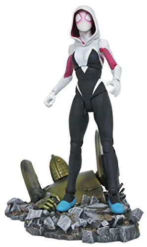 Entertainment Earth Marvel Select SpiderGwen Action Figure Brown