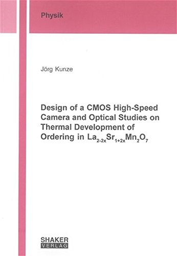 Design of a CMOS High-Speed Camera and Optical Studies on Thermal Development of Ordering in La2-2xSr1+2xMn2O7