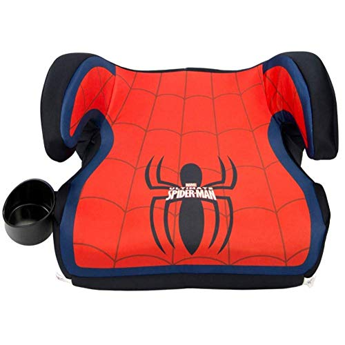 KidsEmbrace Backless Booster Car Seat Marvel SpiderMan