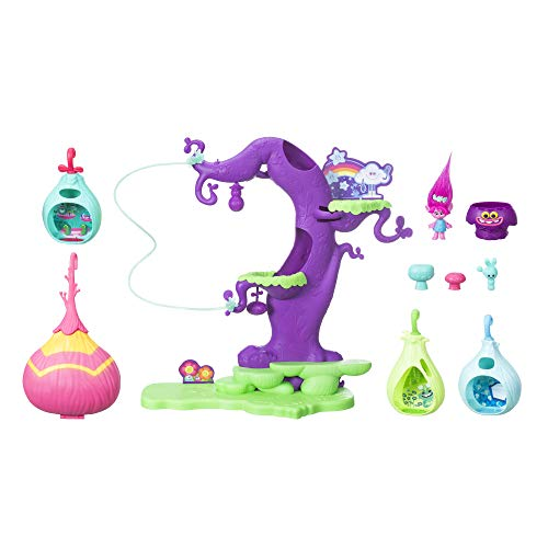 Hasbro Trolls C1306EU4 - Trollstadt Trollsbaum, Spielset