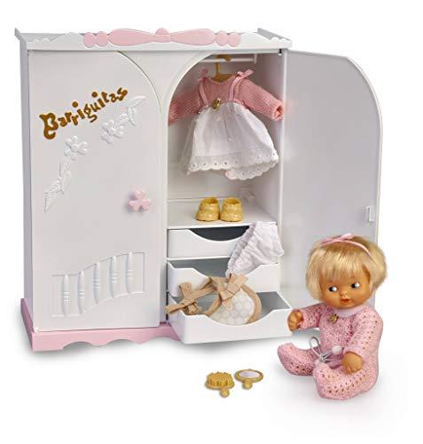 los Barriguitas-700015811 Armario Barriguitas y figura de muñeca bebé, color mixto (Famosa 700015811)