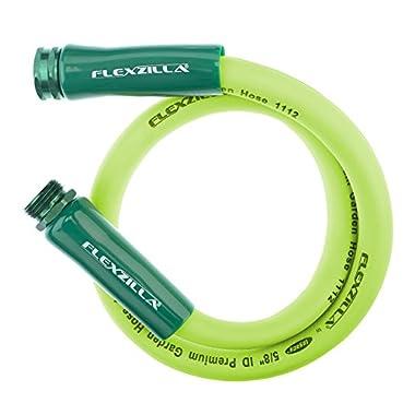 Flexzilla Garden Lead-in Hose, 5/8 in. x 5 ft, Heavy Duty, Lightweight, Drinking Water Safe - HFZG505YW