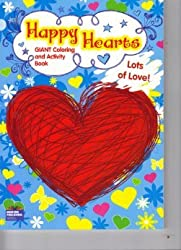 Happy Hearts Giant Coloring & Activity Book ~ Lots of Love
