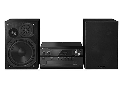 Panasonic SC-PMX84EG-K Micro HiFi System (120W RMS, Bluetooth, Radio, DAB+, USB, Stereo Cinch) schwarz