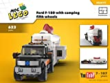 Ford F-150 with camping fifth wheels (Instruction Only): MOC LEGO