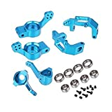 Eddwiin Juego Combinado de actualización de Aluminio CNC 102011 102012 102010 para HSP Redcat Volcano EPX 1/10 RC Cars Truck - Piezas y Accesorios de Juguete ( Color : Blue )