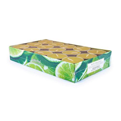 pajoma Teelichte Lemongras, 30er Set