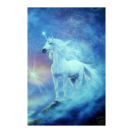 Pastel Alicorn Unicorn Girl Original Painting 16x20