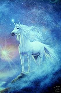 Unicorn Fantasy - New 24x36 Poster -Rare Astral Print