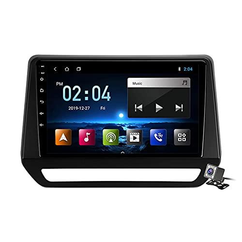 Android 11 Autoradio Double DIN Car Stereo para Renault Triber 2019-2020 Soporta FM AM RDS DSP SWC 4G/5G WIFI/Navegación GPS/Bluetooth/Carplay Android Auto/Voice Control/Contiene Cámara,M100s
