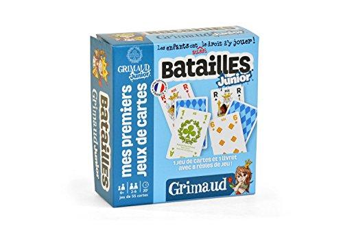 Ducale, le jeu français Batailles Junior-Jeu de cartes Enfant, 410420