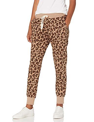 Amazon Essentials Damen athletic-pants Jogger Sweatpant, leopard, M (38-40)