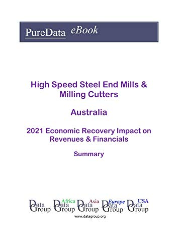 High Speed Steel End Mills & Milling Cutters Australia Summary: 2021 Economic Recovery Impact on Revenues & Financials (English Edition)