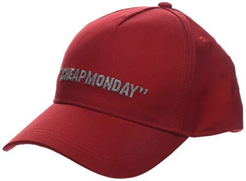 Cheap Monday Cm Baseball cap Cheap Review Berretto, Rosso (Red Red), Unica (Taglia Produttore: OneSize) Uomo
