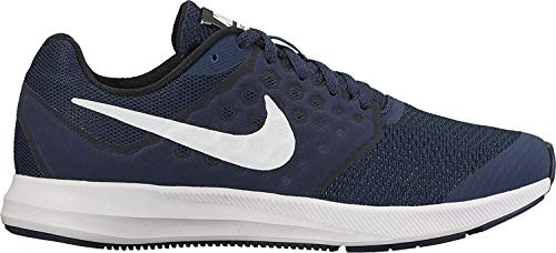 Nike Jungen Downshifter 7 Laufschuhe, Blau Midnight Nav...
