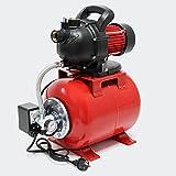 Hauswasserwerk Gartenpumpe 1000 Watt 3500 l/h mit Druckschalter und Manometer