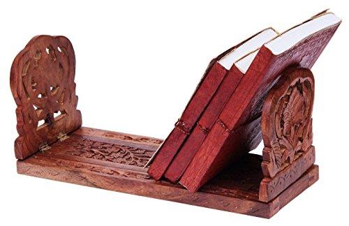 Catskill Craftsmen Tabletop Book Rack, Natural Finish
