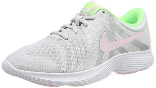 NIKE Jungen Nike Revolution 4 (Gs) Laufschuhe, Mehrfarbig (Pure Platinum/Pink Foam/Platinum Tint 006), 36.5 EU
