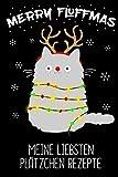 Meine Liebsten Plätzchen Rezepte Backbuch: Rezeptebuch zum selber schreiben - Planer für deine Plätzchen Rezepte zu Weihnachten - 6x9' -120 Seiten blanko Notizbuch - liniert