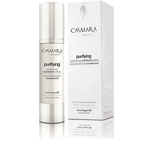 Casmara Purifying Nourishing - Crema oxigenante nutritiva para Piel Seca, 50 Ml