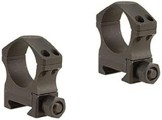 "Nightforce Optics 1.00"" Medium Steel Ring Set for 30mm Scopes"