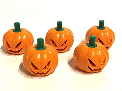LEGO ® 5 Kürbisse / 5 x Kürbis / Pumpkin / Halloween