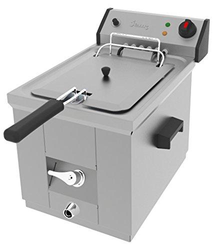 Jemi Freidora Industrial Eléctrica J-7 (1 x 7 litros, 1 x 3