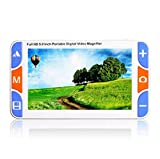 Lupa Digital de Video portátil portátil de Mano de 5.0 Pulgadas...