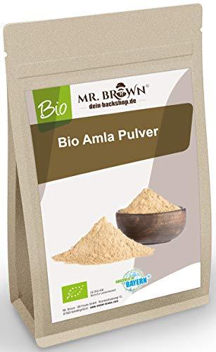 Mr.Brown Bio Amla Pulver 500g, Amalaki gemahlen, vegan