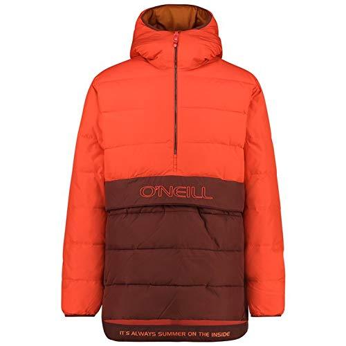 O'NEILL LM Original Jacket Giacca Anorak Uomo con cappuccio, Uomo, 0P1000-3068-XS, rosso acceso, XS