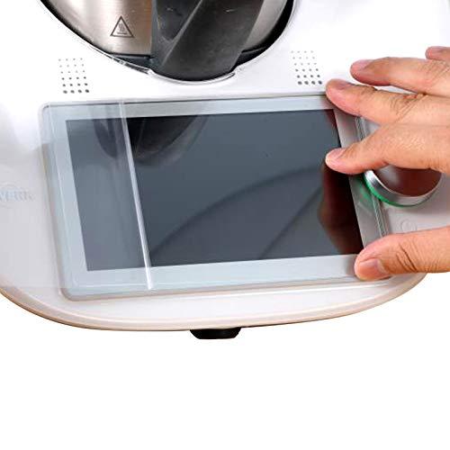 Panzerglas Schutzfolie kompatibel mit Vorwerk Thermomix TM6 - Thermomix Zubehör Displayschutz 1 STK