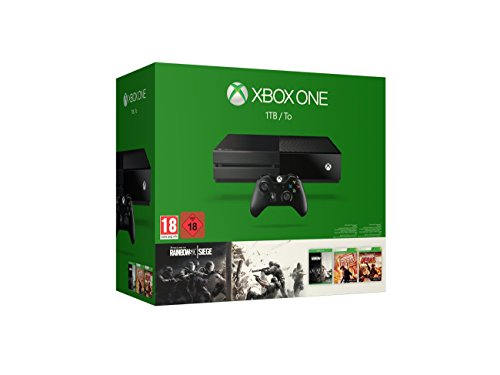 Xbox One 1TB Konsole - Bundle inkl. Rainbow Six Siege, Rainbow Six Vegas und Rainbow Six Vegas 2 - [Edizione: Germania]