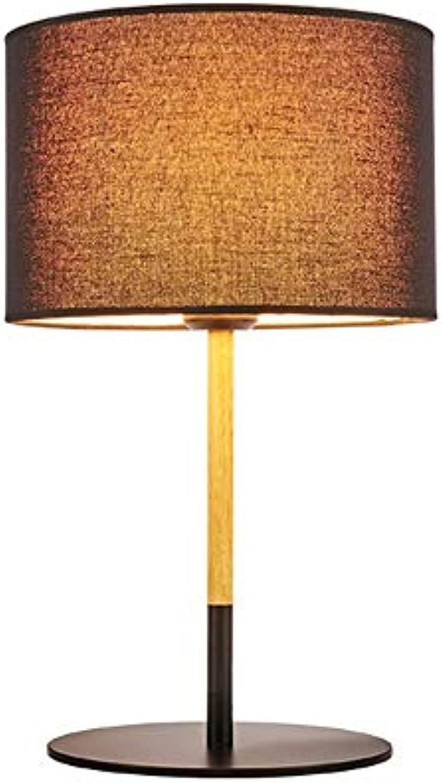 Einfache moderne tischlampen schlafzimmer nachttischlampe leuchten leselampe schwarz wei kreative beleuchtung studie wohnzimmer dekoration lampe (Farbe   Schwarz-One)