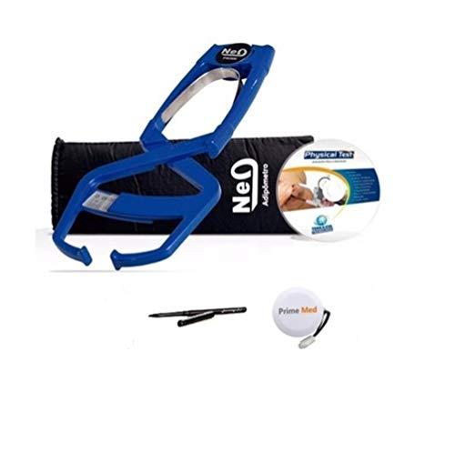 Adipômetro Clínico Prime Med Neo Azul Com Software