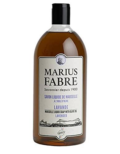Savon de Marseille liquide recharge - 1 L - lavande