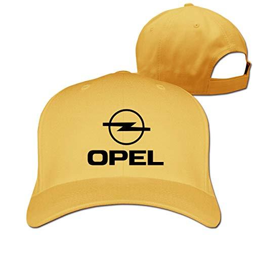 SHUIFENG66 Personalized Cool OPEL Logo Adjustable Cotton Baseball Cap for Unisex,Black,Hüte, Mützen & Caps