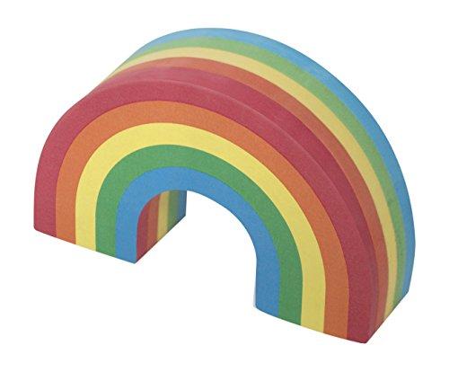Luckies (ラッキーズ) Rainbow Notes レインボーノート LK-LUKRBN カラフルなデザイン付箋紙 虹型の付箋紙